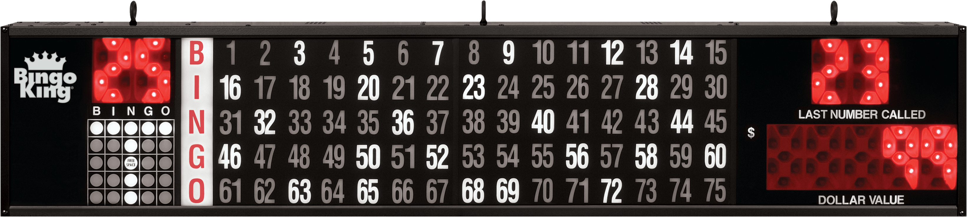 Dollar Value Flashboard